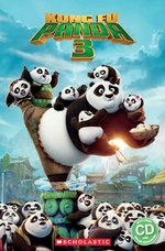 Popcorn ELT Primary Readers Level 3 Kung Fu Panda 3 (Book and CD)