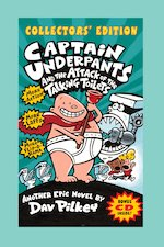 Captain Underpants and the Attack of the Talking Toilets Collectors Edition Plus CD
