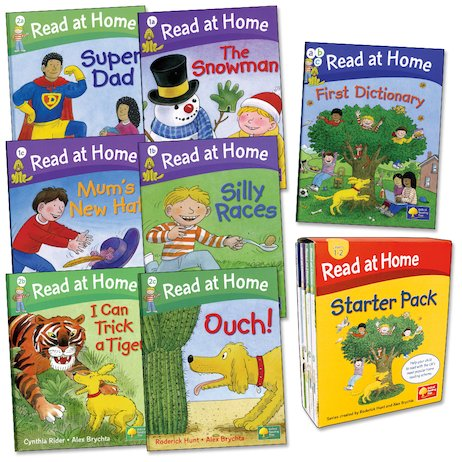 Scholastic At-Home Phonics Reading Program Lot of 5 Softcover Books 11 31 32 33