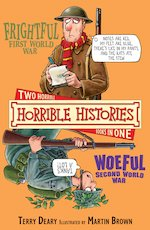 Horrible Histories Collections Frightful First World War and Woeful Second World War (Classic Edition)