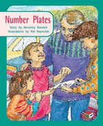 PM Turquoise Number Plates (PM Storybooks) Level 17 x 6