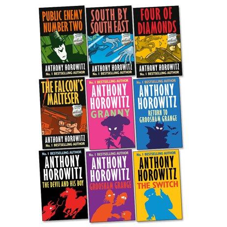 Anthony horowitz book reviews
