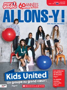 Allons-y ! Magazine cover