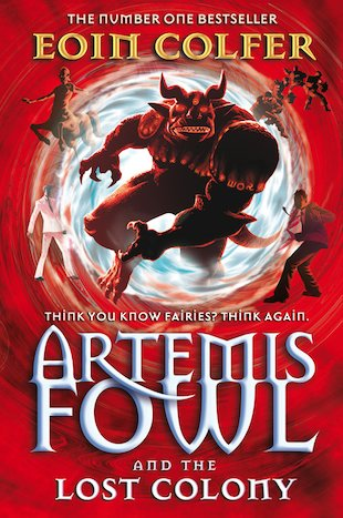 book review artemis fowl lost colony