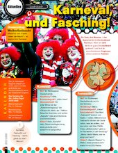 Karneval, Fastnacht und Fasching