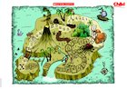 Treasure Island Map – poster