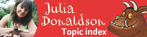 Julia Donaldson teaching resources