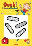 Ouch! I Need a Plaster Colour-in Activity Sheet (1 page)