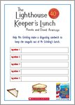The Lighthouse Keeper's Lunch Sandwich Filling Activity Sheet (1 page)