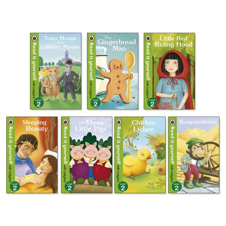 Ladybird Read It Yourself Level 2 Pack x 7