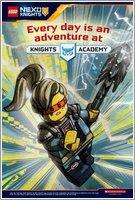 Nexo Knights Forbidden Power Postcard 4