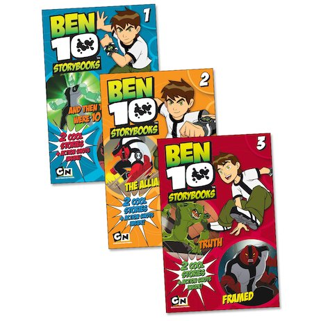 Ben 10 Storybooks Pack - Scholastic Kids' Club