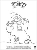 Hugless Douglas Winter Colouring