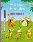 Wipe-Clean Phonics: Book 4