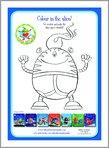 Aliens Love Underpants - Colour in the Alien! (1 page)