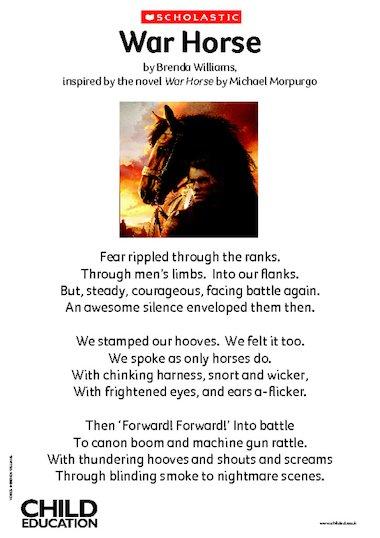 essay on horses for kids
