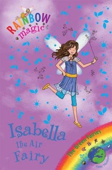 rainbow magic green fairies isabella the air fairy scholastic kids 39 club. Black Bedroom Furniture Sets. Home Design Ideas