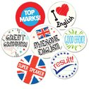 English Sticker Pack (175 stickers)