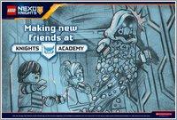 Nexo Knights Forbidden Power Postcard 2