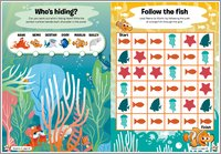 Finding Dory Puzzle Sheet 4