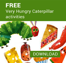 Free Very Hungry Caterpillar activities