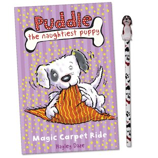 Puddle the Naughtiest Puppy: Magic Carpet Ride