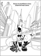 Batman Colouring Activity 5