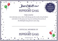 The Midnight Gang Oath