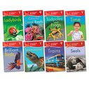 Kingfisher Readers Level 1 Pack x 8