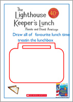 The Lighthouse Keeper's Lunch Drawing Lunchbox Activity