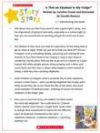 Story Stars Resource: Is That an Elephant in my Fridge? (3 pages)