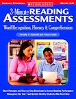 3-Minute Reading Assessments: Word Recognition, Fluency, and Comprehension (Grades 5-8)