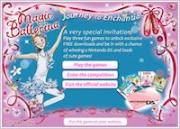 Magic Ballerina Game