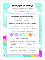My Little Pony - Pick Your Pony Quiz
