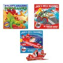 Press-Out Adventures Picture Book Pack x 3