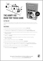 Diary of a Wimpy Kid: The Long Haul - Road Trip Trivia Game