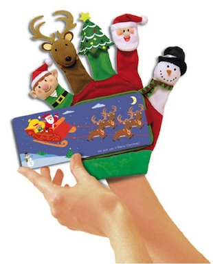 Hand-Puppet Board Books: Merry Christmas