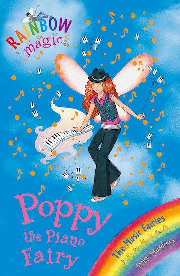 rainbow magic music fairies poppy the piano fairy scholastic kids 39 club. Black Bedroom Furniture Sets. Home Design Ideas