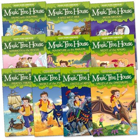 Magic Tree House Pack of 10  Scholastic Kids Club