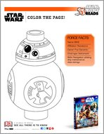 Star Wars Reads - Colour BB-8