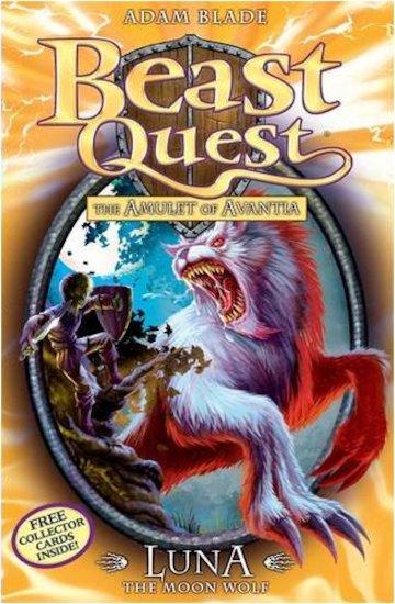 Beast Quest Series 4 22 Luna The Moon Wolf Scholastic