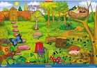 Habitats – minibeast and plant poster