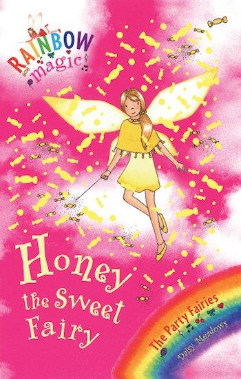 rainbow magic party fairies honey the sweet fairy scholastic kids 39 club. Black Bedroom Furniture Sets. Home Design Ideas