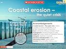 Coastal erosion – multimedia resource