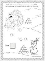 Disney Frozen Puzzle Activity 3
