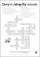 Diary of a Wimpy Kid: The Long Haul - Crossword