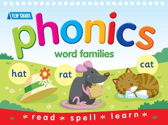 phonics word families flip chart scholastic kids club