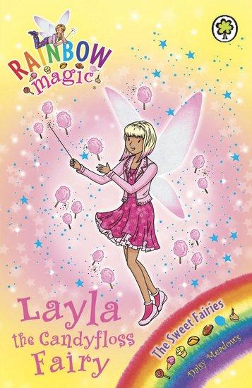 rainbow magic sweet fairies layla the candyfloss fairy scholastic kids 39 club. Black Bedroom Furniture Sets. Home Design Ideas