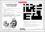 Captain Underpants Puzzle Activity (2 pages)