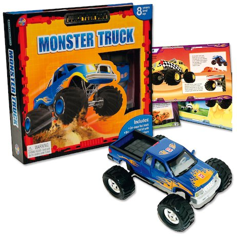 Build Your Own Monster Truck Scholastic Kids Club